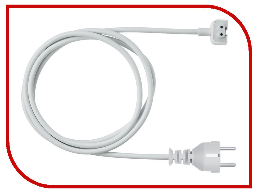 Аксессуар APPLE Power Adapter Extension Cable MK122Z/A 5v 2000ma eu plug power adapter w charging cable white 100 240v