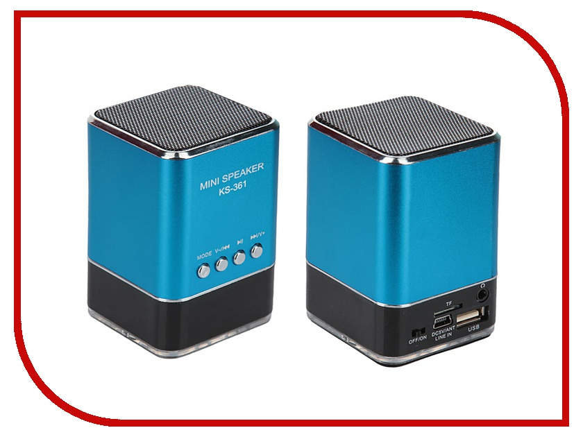 Колонка Rexant 2161 18-2161-5 Blue<br>
