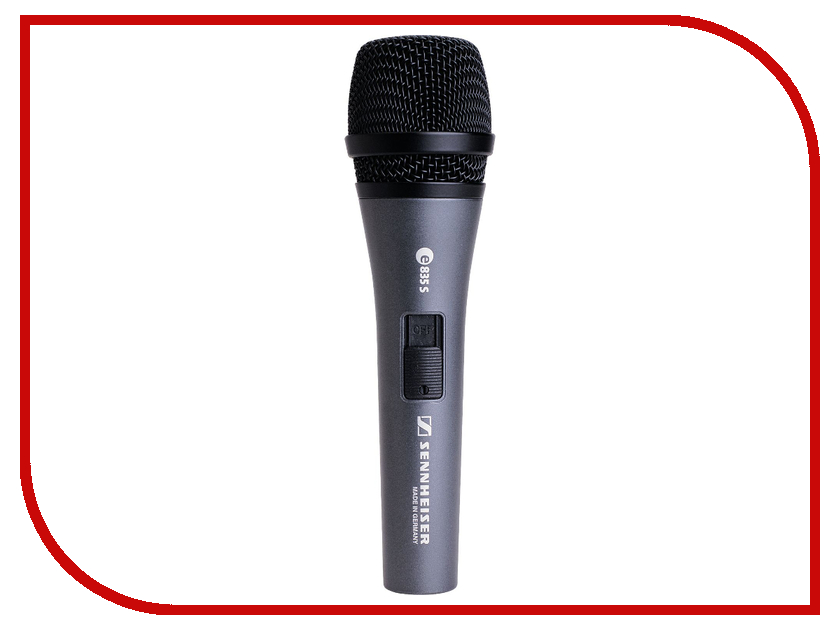 Микрофон Sennheiser E 835-S blouse straight cut