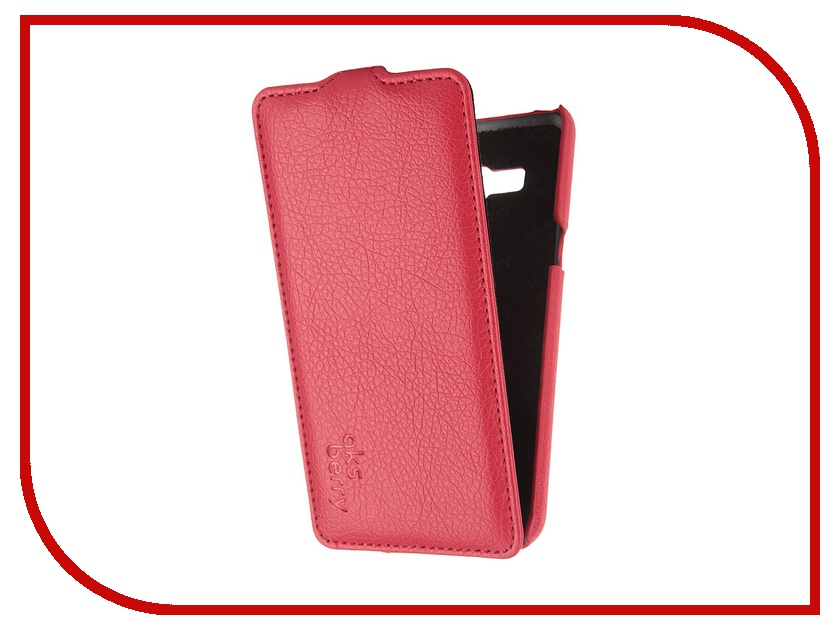 Аксессуар Чехол Samsung SM-G530 Galaxy Grand Prime Ainy кожаный Red