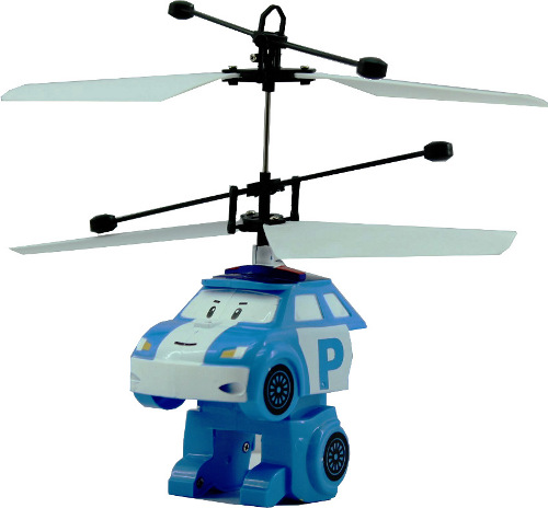 Вертолет Smart Toys Летающий трансформер Blue RC010<br>