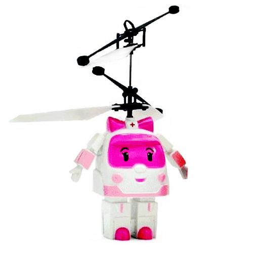 Вертолет Smart Toys Летающий трансформер Pink RC010P<br>