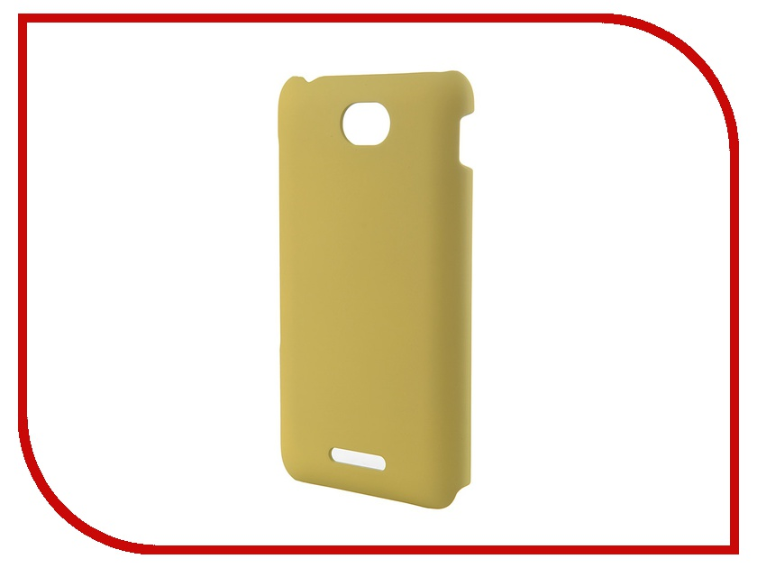 Аксессуар Чехол Sony Xperia E4 Muvit MFX Rubber Back Case Yellow SEBKC0035<br>