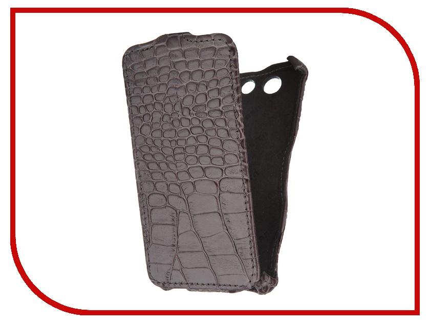 ��������� ����� Abilita for Sony Xperia Z3 Compact ������� Grey Crocodile ASXZ3COM