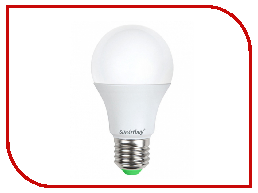 Лампочка Smartbuy A60 15W 4000K E27 SBL-A60-15-40K-E27 лампочка asd led a60 standard 20w 4000k 160 260v e27 4690612004204