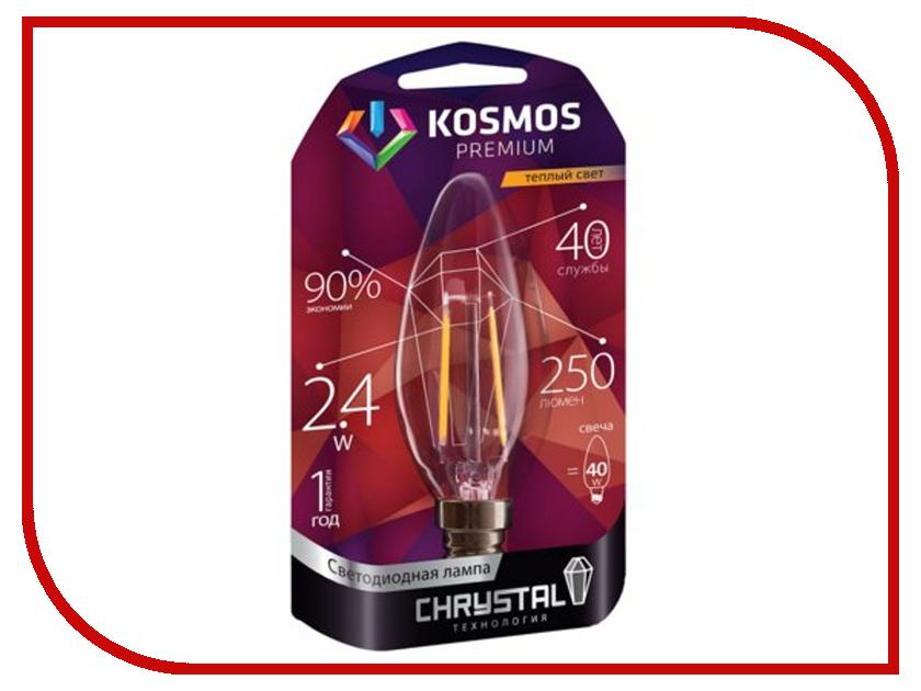 Лампочка Космос Premium Золотая Нить KLED2.4wCNE1427GF<br>
