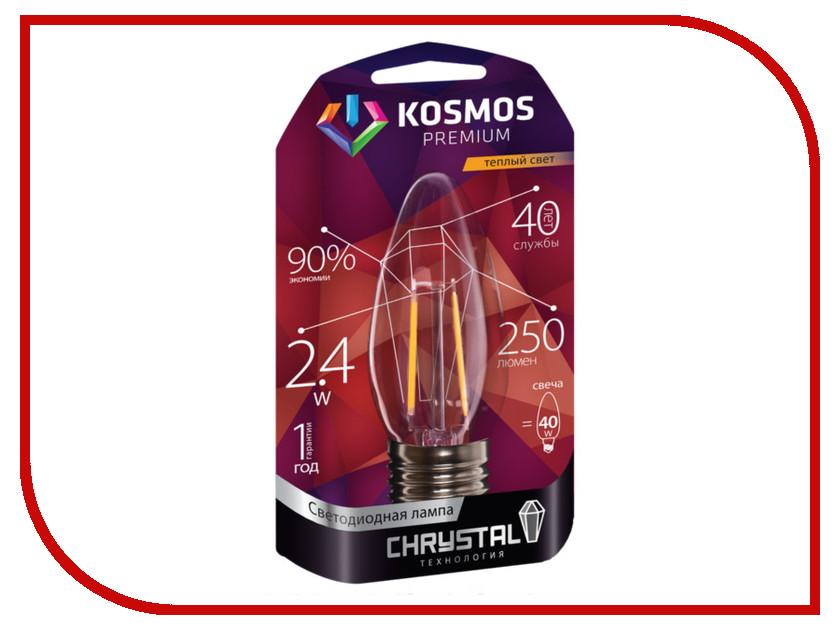 Лампочка Космос Premium Золотая Нить KLED2.4wCNE2727GF<br>