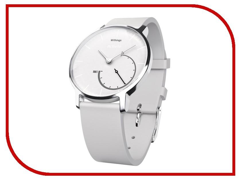 Умные часы Withings Activite Steel Chrome White<br>