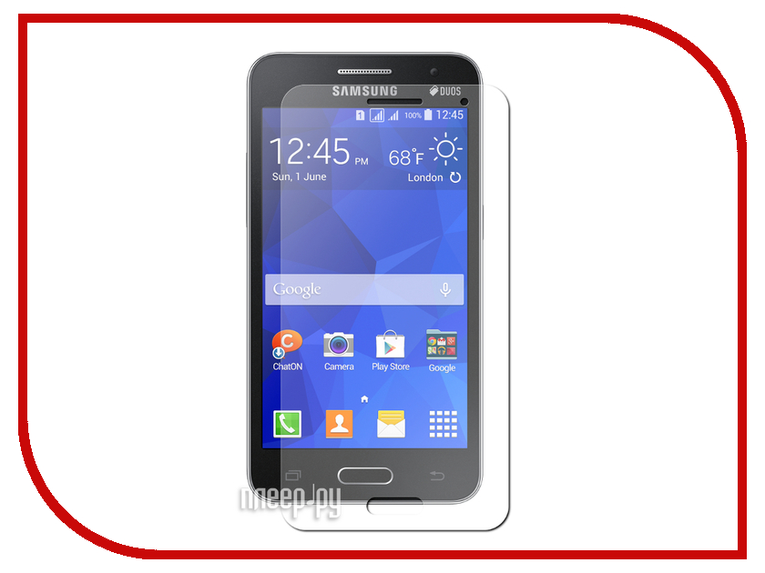 Аксессуар Защитное стекло Samsung SM-G355 Galaxy Core 2 Media Gadget Tempered Glass 0.33mm TG047