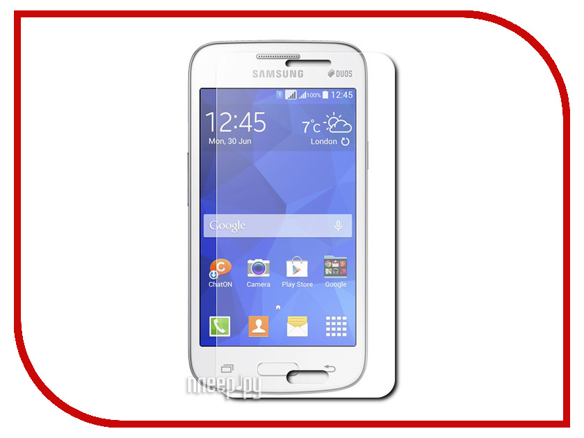 Аксессуар Защитное стекло Samsung SM-G350E Galaxy Star Advance Media Gadget Tempered Glass 0.33mm TG046