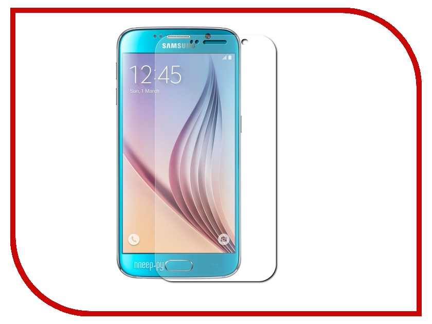 Аксессуар Защитное стекло AUZER for Samsung S6 AG-SS6<br>