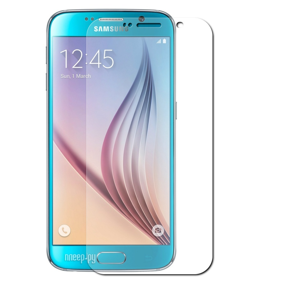 Аксессуар Защитное стекло AUZER for Samsung S6 AG-SS6