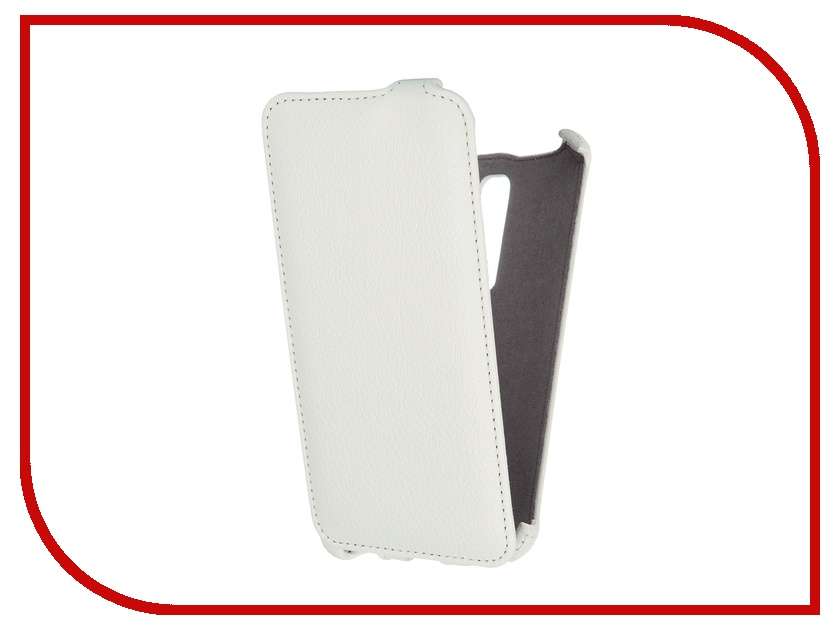 Аксессуар Чехол ASUS ZenFone 2 Gecko White GG-F-ASZE550ML-WH<br>