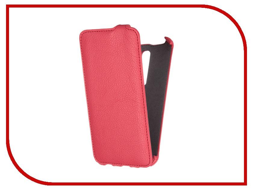 Аксессуар Чехол ASUS ZenFone 2 Gecko Red GG-F-ASZE550ML-RED