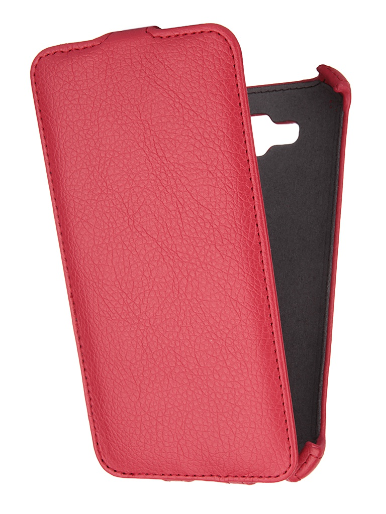 Аксессуар Чехол Samsung Galaxy E7 Gecko Red GG-F-SGE7-RED<br>