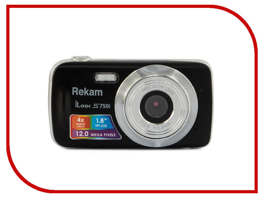 Rekam iLook S750i фотоаппарат rekam ilook s777i red