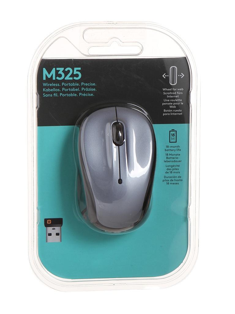 Мышь Logitech M325 Light Silver 910-002334