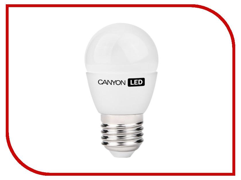 Лампочка Canyon P45 3.3W 4000K E27 PE27FR3.3W230VN<br>
