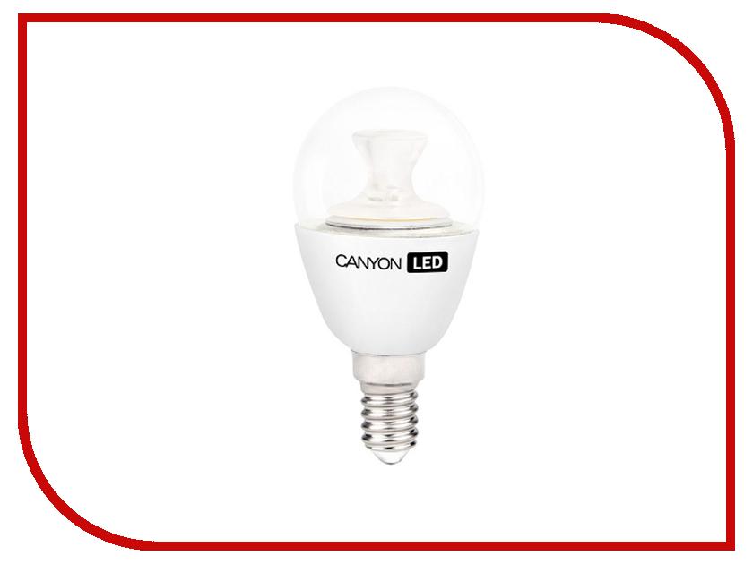 Лампочка Canyon P45 3.3W 4000K E14 PE14CL3.3W230VN<br>