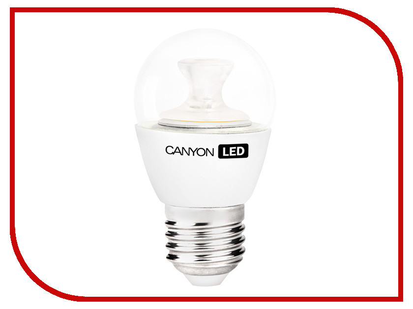 Лампочка Canyon P45 3.3W 4000K E27 PE27CL3.3W230VN<br>