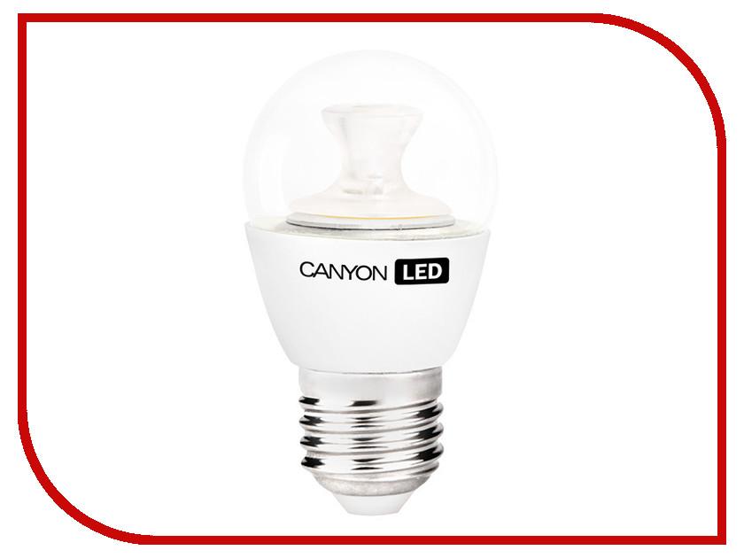 Лампочка Canyon P45 3.3W 2700K E27 PE27CL3.3W230VW<br>