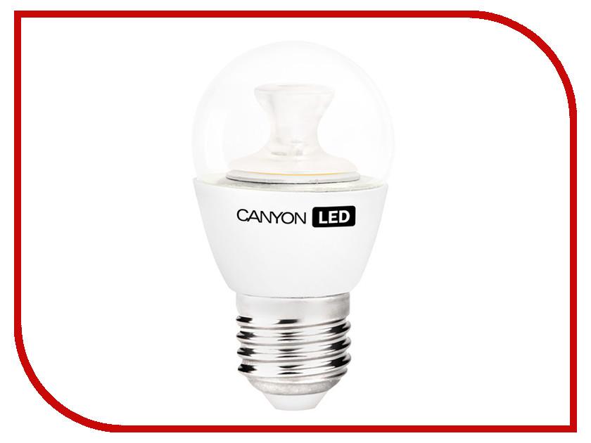 Лампочка Canyon P45 6W 4000K E27 PE27CL6W230VN лампа светодиодная canyon цоколь е27 6w 4000к pe27cl6w230vn