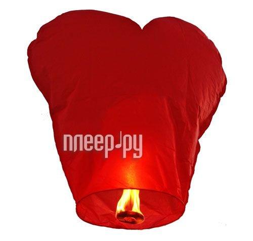 Небесный фонарик Skyf сердце Red<br>