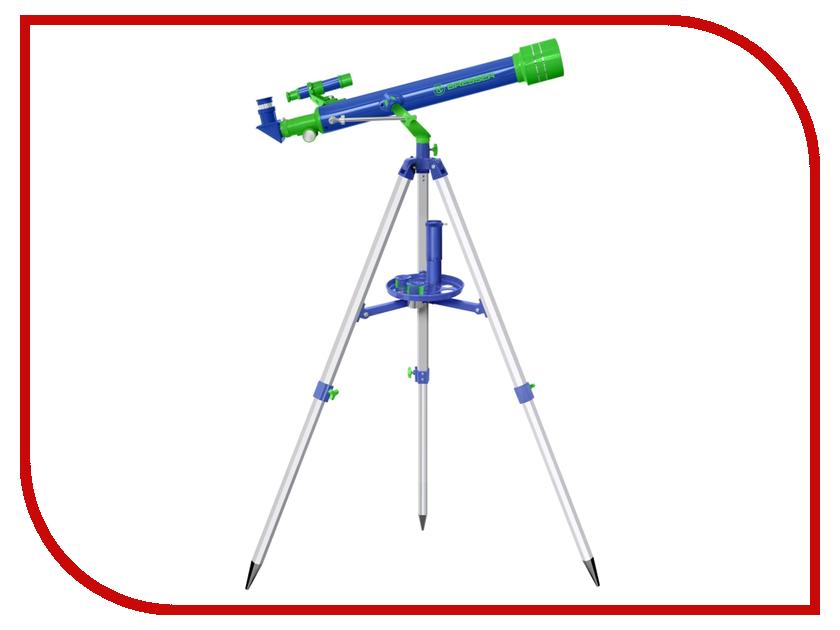 Bresser Junior Refractor 60x700 Blue микроскоп bresser junior 40x 1024x без кейса