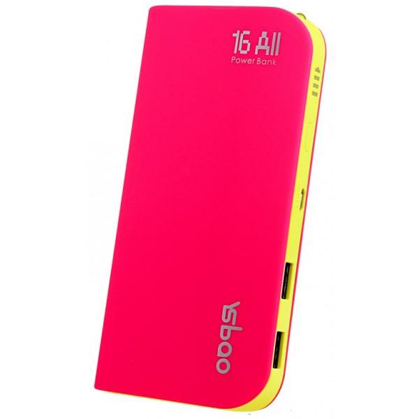 Аккумулятор YSbao YSB-M6 16000 mAh Pink
