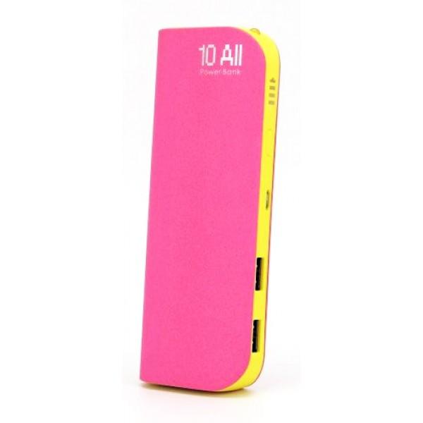 Аккумулятор YSbao YSB-S4 10000 mAh Pink-Yellow