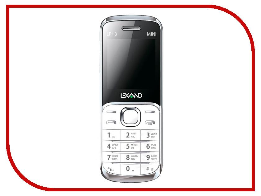Сотовый телефон Lexand Mini LPH-3 White<br>