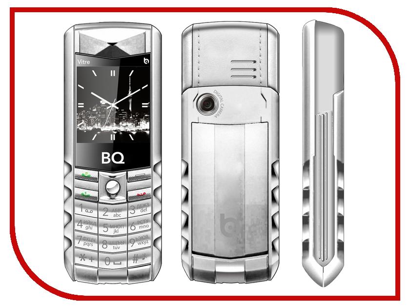 Сотовый телефон BQ BQM-1406 Vitre Silver