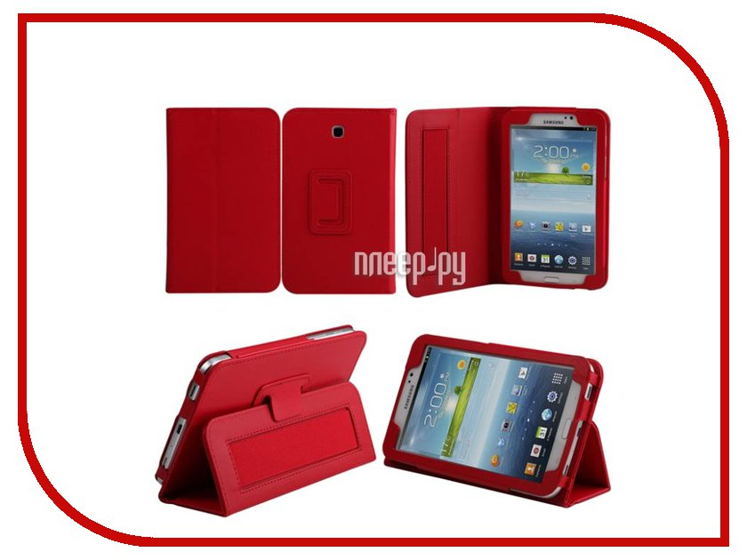 Аксессуар Чехол Samsung Galaxy Tab 4 7.0 IT Baggage иск.кожа Red ITSSGT7402-3 аксессуар чехол samsung galaxy tab a 7 sm t285 sm t280 it baggage ultrathin red itssgta7005 3