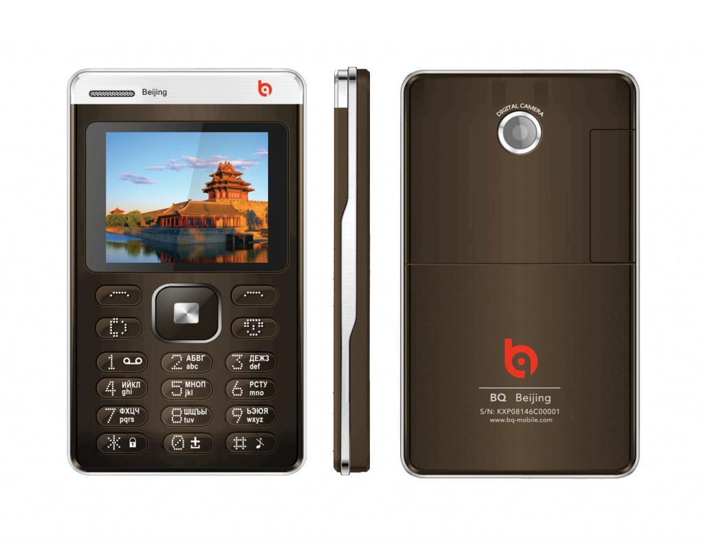Сотовый телефон BQ BQM-1404 Beijing Brown<br>