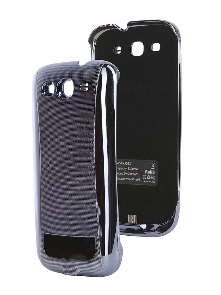 ��������� ����� � ������������� Samsung GT-i9300 Galaxy S III Ainy 3300 mAh B-11 Blue CC-S056F