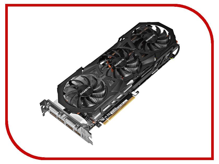 Видеокарта GigaByte GeForce GTX 980 1178Mhz PCI-E 3.0 4096Mb 7000Mhz 256 bit 2xDVI HDMI HDCP GV-N980WF3OC-4GD<br>