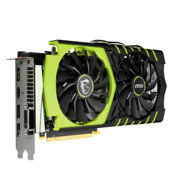 Видеокарта MSI GeForce GTX 960 1241Mhz PCI-E 3.0 2048Mb 7010Mhz 128 bit DVI HDMI HDCP 100ME V320-022