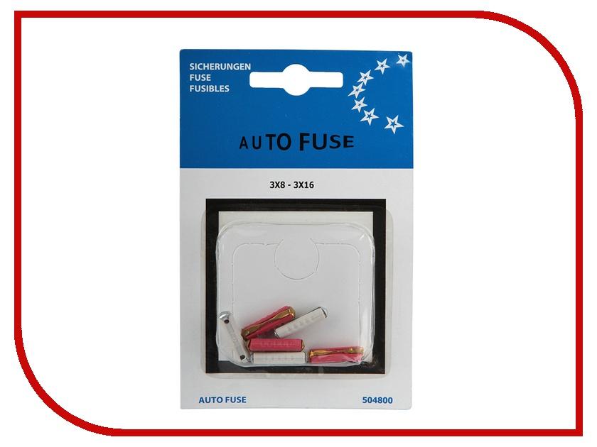 Аксессуар Антей Auto Fuse 504800 - предохранители цилиндрические