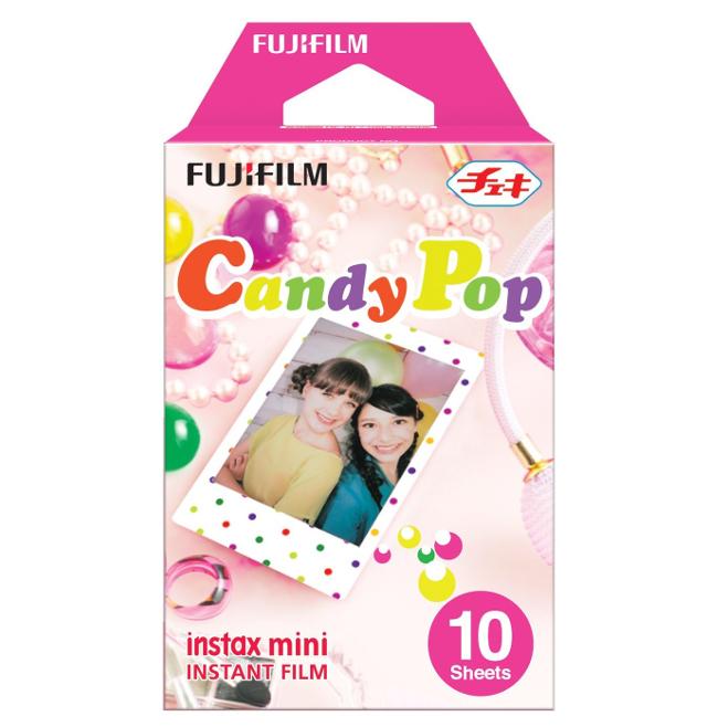 Fujifilm Colorfilm Candypop 10/1PK для Instax mini 8/7S/25/50S/90 / Polaroid 300 Instant 16321418 / 70100139614 fujifilm colorfilm square film 10 1pk для instax square sq6 sq10 sq20 instax share sp 3 16549278 70100139613