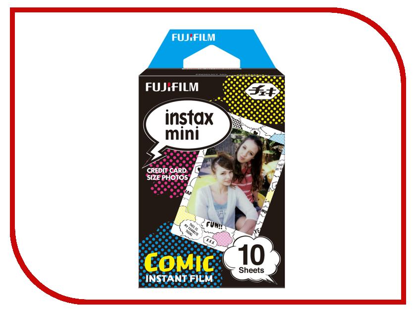FujiFilm Colorfilm Comic 10/1PK для Instax mini 8/7S/25/50S/90 / Polaroid 300 Instant 16404208 кассета для polaroid instax mini 7s 8 25 50s 90