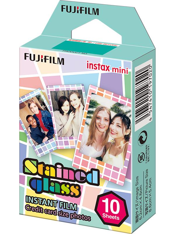 Аксессуар FujiFilm Colorfilm Stained Glass 10/1PK для Instax mini 8/7S/25/50S/90 / Polaroid 300 Instant