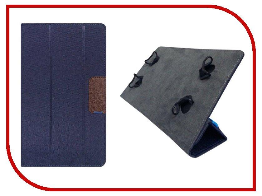 Аксессуар Чехол 8.0-inch Snoogy универсальный Cloth Blue SN-UNI8W-BLU-OXF