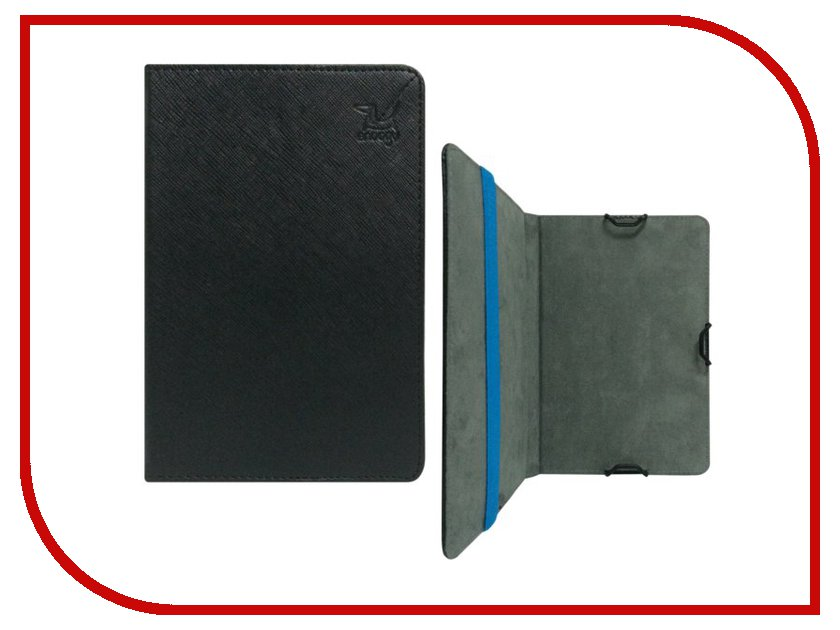 где купить  Аксессуар Чехол Snoogy for PocketBook 614/624/626/640 иск.кожа Black SN-PB6X-BLK-LTH  дешево