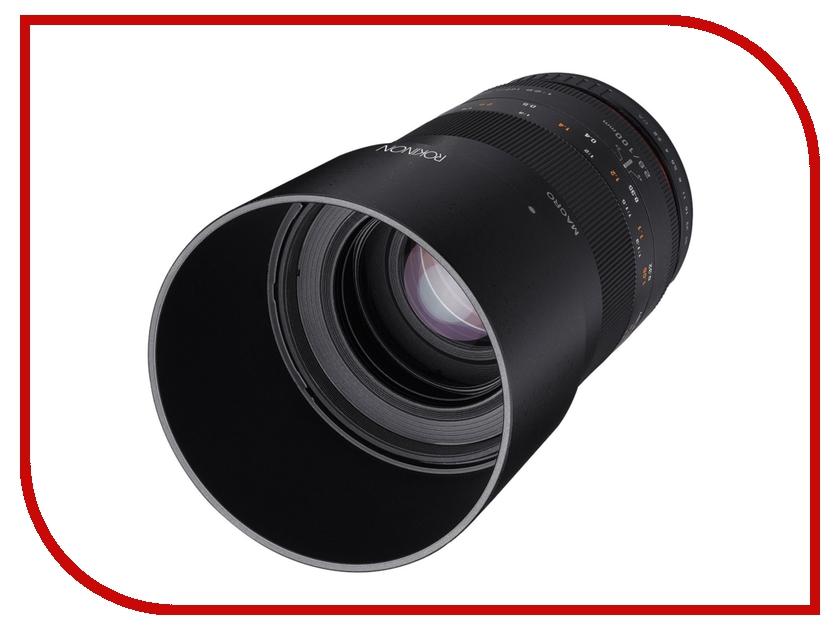 Объектив Samyang Fuji X MF 100 mm F/2.8 ED UMC Macro<br>