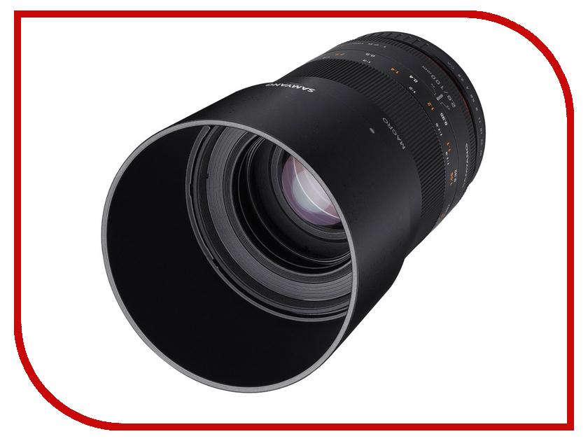 Объектив Samyang Micro 4/3 MF 100 mm F/2.8 ED UMC Macro<br>