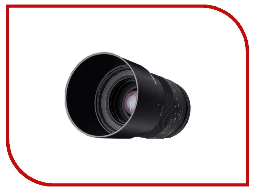 Объектив Samyang Sony/Minolta MF 100 mm F/2.8 ED UMC Macro<br>