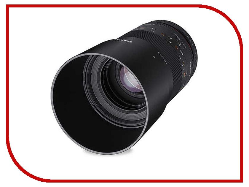 Объектив Samyang Pentax MF 100 mm F/2.8 ED UMC Macro<br>