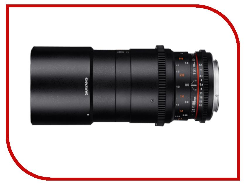 Объектив Samyang Sony/Minolta MF 100 mm T3.1 ED UMC Macro VDSLR<br>
