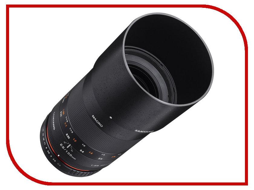 Объектив Samyang Nikon MF 100 mm T3.1 ED UMC Macro VDSLR<br>