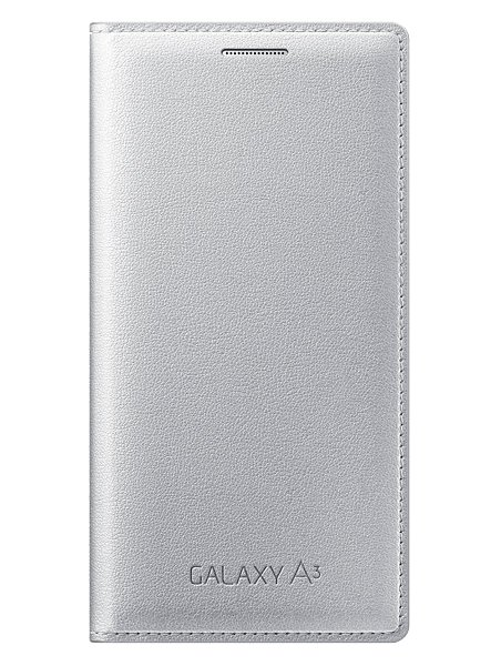 Аксессуар Чехол Samsung Galaxy A3 SM-A300 Flip Cover Silver EF-FA300BSEGRU<br>